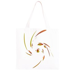 Orange twist Grocery Light Tote Bag