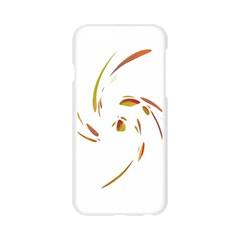 Orange twist Apple Seamless iPhone 6/6S Case (Transparent)