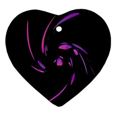 Purple twist Ornament (Heart)