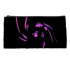 Purple twist Pencil Cases