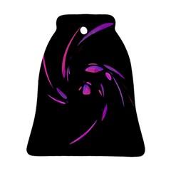 Purple twist Ornament (Bell)
