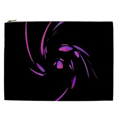 Purple twist Cosmetic Bag (XXL)