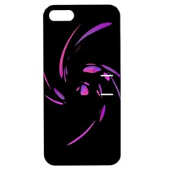 Purple twist Apple iPhone 5 Hardshell Case with Stand