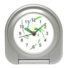 Green twist Travel Alarm Clocks