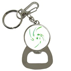 Green twist Bottle Opener Key Chains