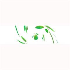 Green twist Large Bar Mats
