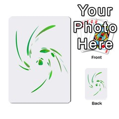 Green twist Multi-purpose Cards (Rectangle)