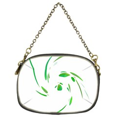 Green twist Chain Purses (Two Sides)