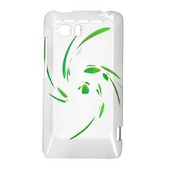 Green twist HTC Vivid / Raider 4G Hardshell Case