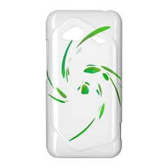 Green twist HTC Droid Incredible 4G LTE Hardshell Case