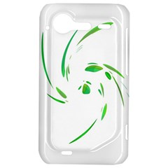 Green twist HTC Incredible S Hardshell Case