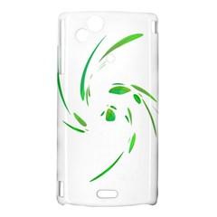 Green twist Sony Xperia Arc