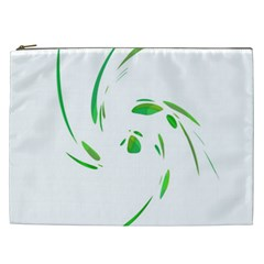 Green twist Cosmetic Bag (XXL)