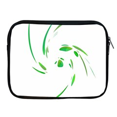 Green twist Apple iPad 2/3/4 Zipper Cases
