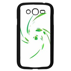 Green twist Samsung Galaxy Grand DUOS I9082 Case (Black)