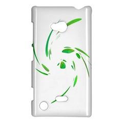Green twist Nokia Lumia 720