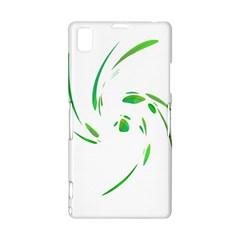 Green twist Sony Xperia Z1