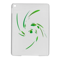 Green twist iPad Air 2 Hardshell Cases
