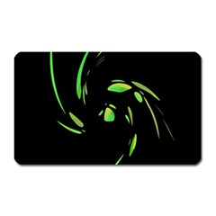 Green Twist Magnet (Rectangular)