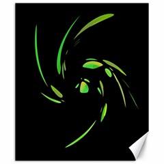 Green Twist Canvas 20  x 24