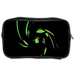 Green Twist Toiletries Bags 2-Side