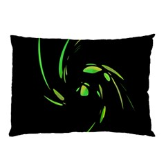 Green Twist Pillow Case (Two Sides)