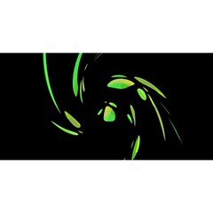 Green Twist YOU ARE INVITED 3D Greeting Card (8x4)