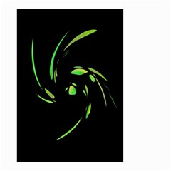 Green Twist Small Garden Flag (two Sides)
