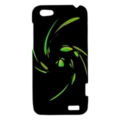Green Twist HTC One V Hardshell Case