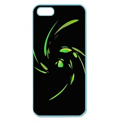 Green Twist Apple Seamless iPhone 5 Case (Color)