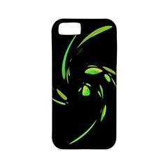 Green Twist Apple iPhone 5 Classic Hardshell Case (PC+Silicone)