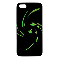 Green Twist Apple iPhone 5 Premium Hardshell Case