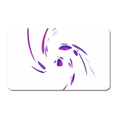 Purple twist Magnet (Rectangular)