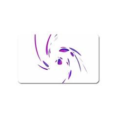 Purple twist Magnet (Name Card)