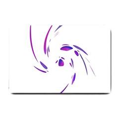 Purple twist Small Doormat