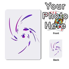 Purple twist Multi-purpose Cards (Rectangle)