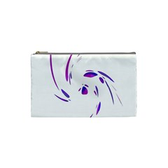 Purple twist Cosmetic Bag (Small)