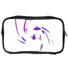 Purple twist Toiletries Bags