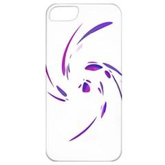 Purple twist Apple iPhone 5 Classic Hardshell Case