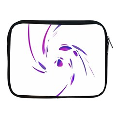 Purple twist Apple iPad 2/3/4 Zipper Cases