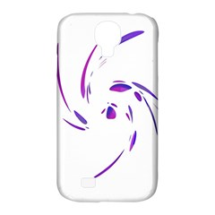 Purple twist Samsung Galaxy S4 Classic Hardshell Case (PC+Silicone)