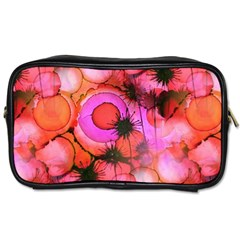 Palm Trees on Sunset Stains Toiletries Bags 2-Side