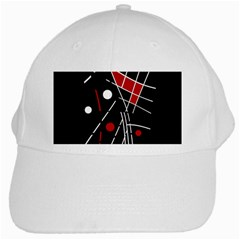 Artistic abstraction White Cap