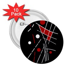 Artistic abstraction 2.25  Buttons (10 pack)