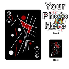 Artistic abstraction Playing Cards 54 Designs