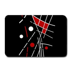 Artistic abstraction Plate Mats