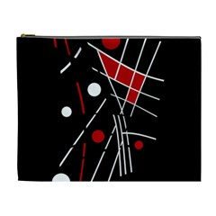 Artistic abstraction Cosmetic Bag (XL)