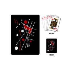 Artistic abstraction Playing Cards (Mini)