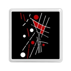 Artistic abstraction Memory Card Reader (Square)