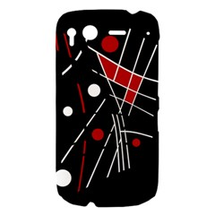 Artistic abstraction HTC Desire S Hardshell Case